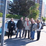 Algunos de los participantes