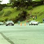 J. Pons Mercedes Benz 280 SL 68  y  R. Malik Porche 911 Targa 68