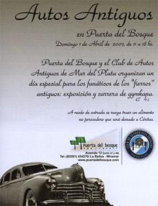 Poster Puerta del Bosque